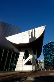 The Lowry, Salford Quays, Salford, Manchester, UK.