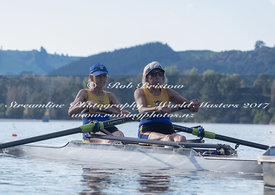 Taken during the World Masters Games - Rowing, Lake Karapiro, Cambridge, New Zealand; ©  Rob Bristow; Frame 514 - Taken on: Tuesday - 25/04/2017-  at 09:05.36