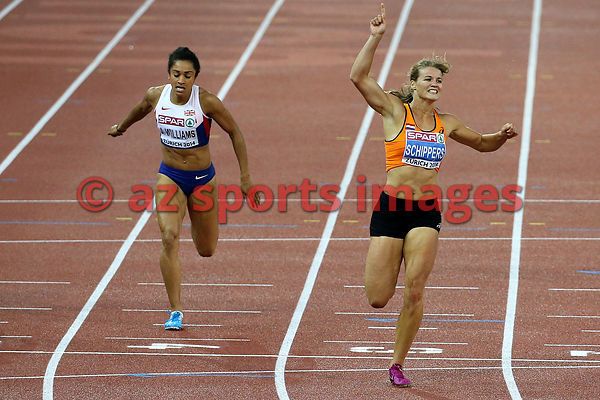 Dafne SCHIPPERS (NED),Jodie WILLIAMS (GBR)