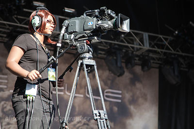 Filming the crowd at Aftershock 2014