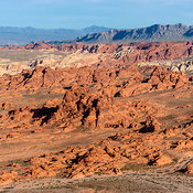 Valley of Fire State Park aerial photos