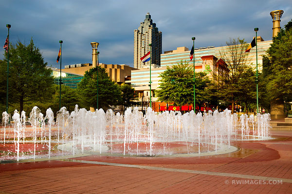 CENTENNIAL OLYMPIC PARK ATLANTA GEORGIA COLOR