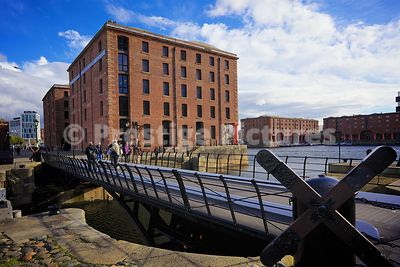 Hartley Bridge to the Merseyside Maritime Museum on a Sunny Day