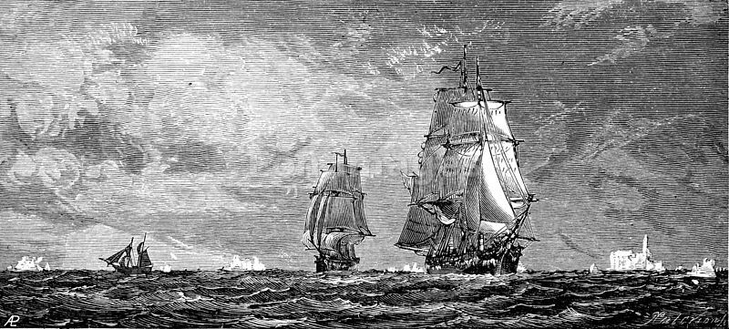 Erebus and Terror, ships of the Franklin expedition to the Northwest Passage