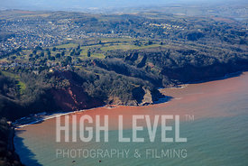 Aerial Photography Taken In and Around Torquay-Oddicombe Beach