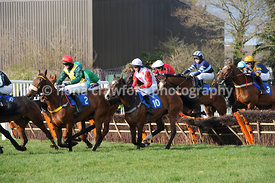 The at the races Sky 415 Novices Handicap Hurdle Race
