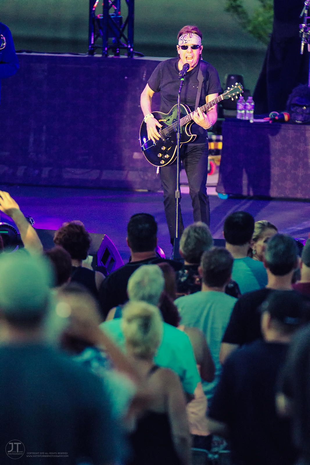 Hoopla - George Thorogood, McGrath Amphitheater, June 10, 2015 photos