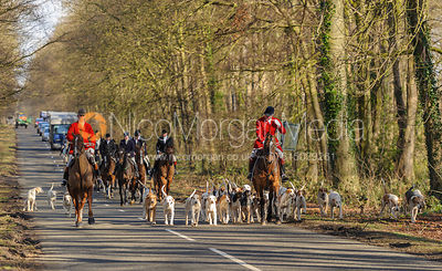 The Cottesmore Hunt at Barnsdale Lodge 1/3 photos