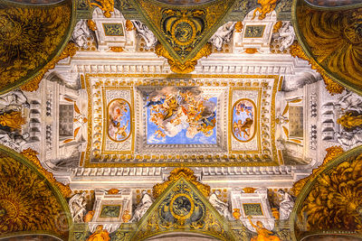 Colorful ceiling Palazzo Pitt