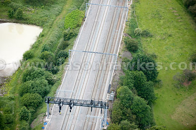 Train Tracks, Armitage, West Midlands