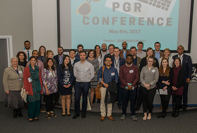 Postgraduate Research Conference, May 2017 photos