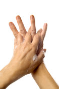 Recommended hand washing techniques