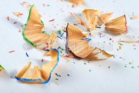 Wooden Pencil Shavings