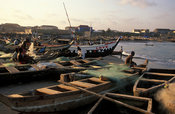 James Town fishing harbour, Accra, Ghana