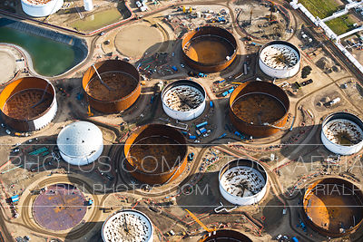 Petroleum Refinery Tank Farm