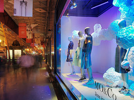 MO&Co Galeries Lafayette Paris photos