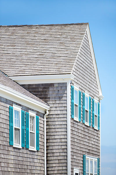 NANTUCKET TOWN ARCHITECTURE COLOR