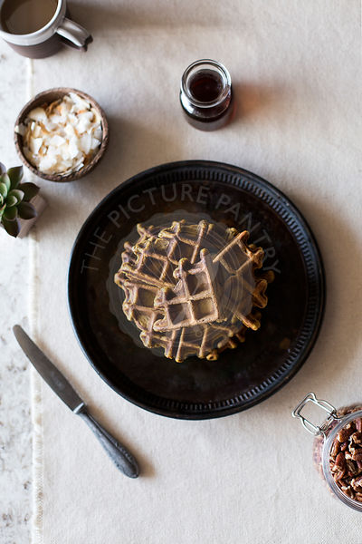 Spicy Pumpkin Waffles