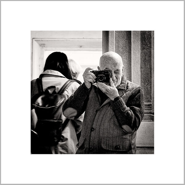5th May 2017 - Reciprocal Shot with the Italian Master Photographer Gianni Berengo Gardin - Reggio Emilia (Italy)