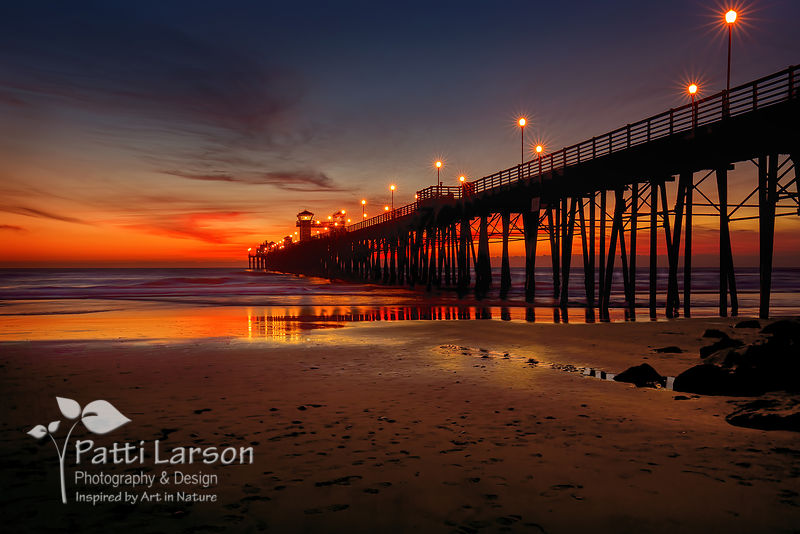 Last Light at the Pier