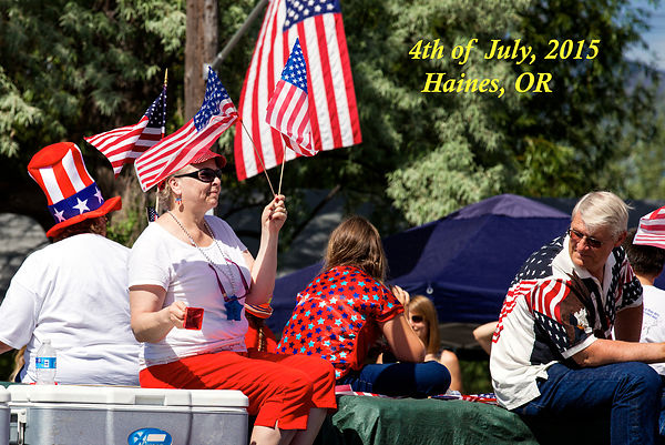 4th of July-Haines OR photos