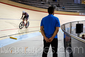 Master C individual pursuit. 2014 Canadian Track Championships, January 6, 2015
