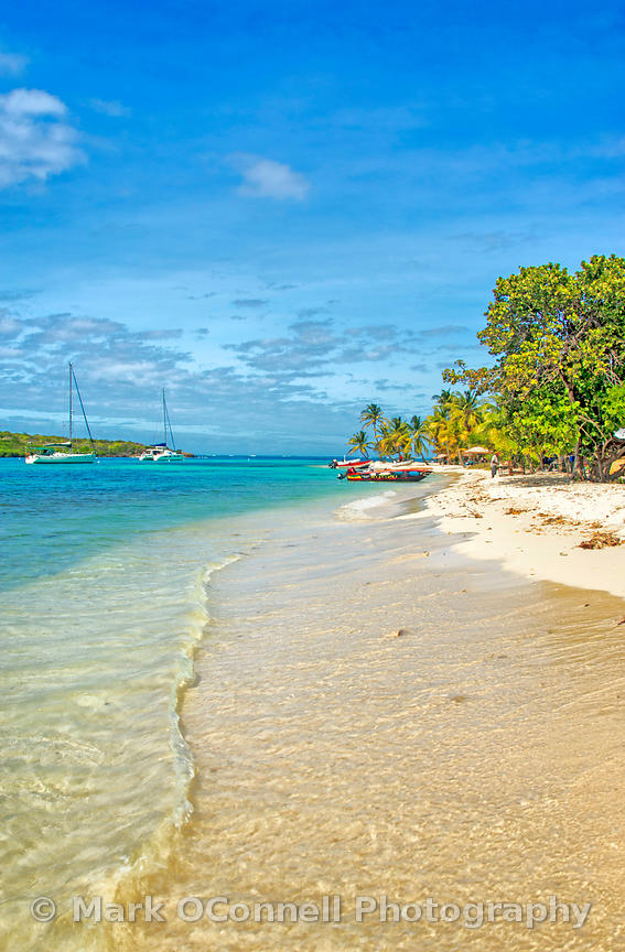 Beaches in Tobago Cays