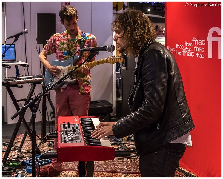 Pépite en showcase à la fnac (6 octobre 2017) photos