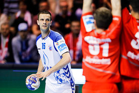 Dobrivoje Markovic during the Final Tournament - Final Four - SEHA - Gazprom league, Bronze Medal Match Meshkov Brest - PPD Zagreb, Belarus, 09.04.2017, Mandatory Credit ©SEHA/ Stanko Gruden..