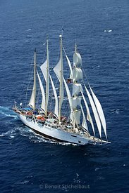 Antigua et Barbuda, Antigua Classic Yacht Regatta 2005, Star Clipper (Tall Ship 1992)