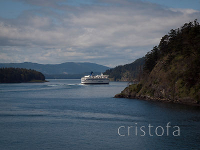 BC Ferry in Active Pass