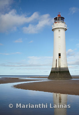 Fort Perch Rock lighthouse (portrait)