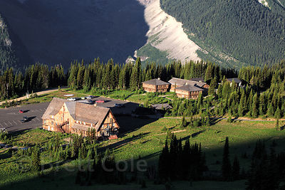 Sunrise visitors center, Mount Rainier National Park, Washington