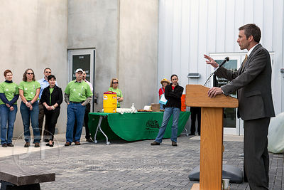 Iowa City East Side Recycling Center Grand Opening and Ribbon Cutting