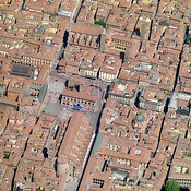 Bologna aerial photos