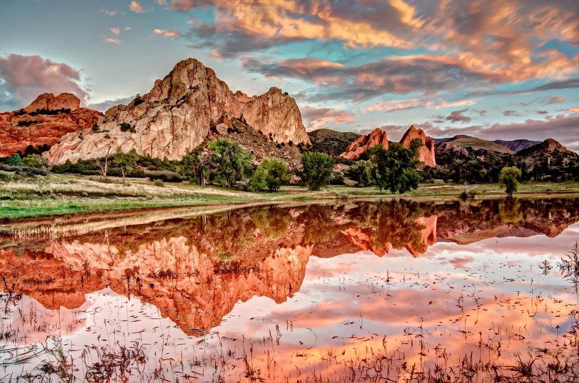Garden of the Gods Reflecting Pond