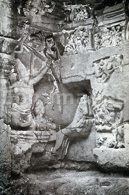 Surya the Sun God at Ellora