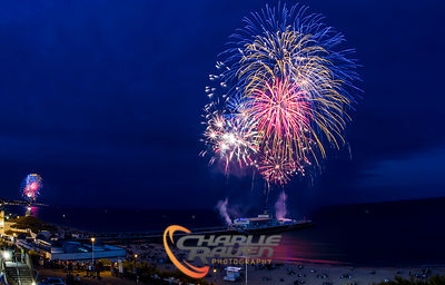 Twin Pier Fireworks - Bournemouth photos