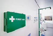 Laboratory first-aid equipment