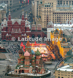 Moscow, Russia. Red Square.