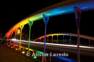 Rainbow bridge, Castlebar