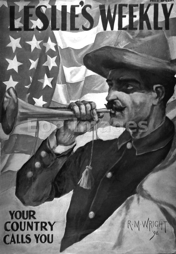 Spanish-American War recruitment ad