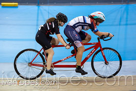 Para Women Pursuit. Ontario Track Championships, Mattamy National Cycling Centre, Milton, On, March 4, 2017