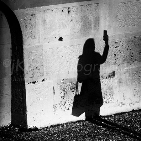 Street Photo - L'ombre de Narcisse