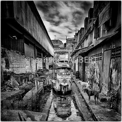 Bangkok B&W photos