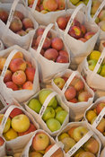 Bags of American Apples