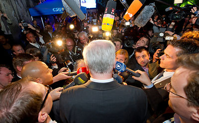 Facebook-Party Horst Seehofer