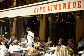 Paris, Grands Boulevards, Café Limonade