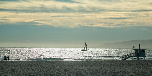sailboat & silhouette 1