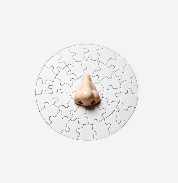 Nose on circular Puzzle